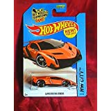 2014 Hot Wheels Hw City Lamborghini Veneno - Orange [Ships In A Box!]