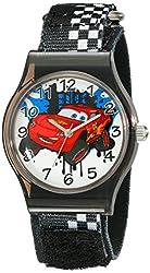 Disney Kids W001708 Cars Analog Black Watch