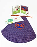 Super Zeros Book, Cape and Music CD Gift Set