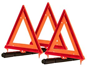 Blazer 7500 Collapsible Warning Triangle, 3 Pack