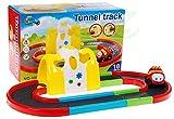 Circuito en coche y el túnel mágico - Pista por un coche - carreras de coches de la pista de carreras - Pistas - pista de carreras para ninos pequenos - Juguetes para ninos pequenos