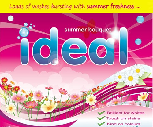 Ideal 20Kg Biological Washing Powder 2 x 10KG - Home, Laundry or Professional Use