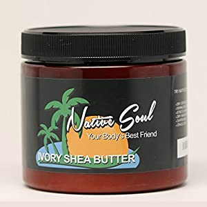 Native Soul Raw Ivory Shea Butter Unscented