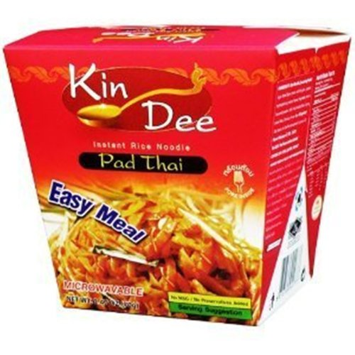 Instant Stir-Fried Rice Noodle Easy Meal ,Thai Food Net Wt 70G (2.47 Oz) X 1 Box
