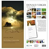 New England Dawn of Peace Cover Perpetual Calendar - Birthday Calendar - Exquisite Photography & Unique Christmas, Xmas, Holiday and Birthday Gifts for Moms, Dads, Women, Men, Girls, Boys, Teachers, Mothers, Weddings, Brides, Showers, Anniversary - Fine Art Photography Wall & Desk Calendars by Acclaimed Maine Landscape Nature Photographer Donald Verger - Spiral Bound with top drilled hole ~ Donald Verger Photography