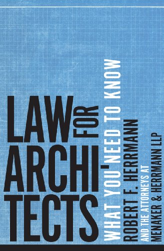 Law for Architects: What You Need to Know (Building A Law Practice compare prices)