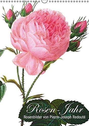 Rosen-Jahr (Wandkalender 2016 DIN A3 hoch): Rosenbilder von Pierre-Joseph Redouté (Monatskalender, 14 Seiten) (CALVENDO Natur)