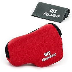 Mega Gear MG067 Ultra Light Neoprene Case and Bag for Sony A6000 (Red)