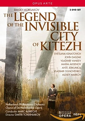 DVD : Legend Of Invisible City Of Kitezh (2 Discos)