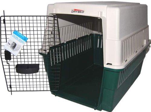 Drybed-Hundebox-Flugbox-Kennelbox-Kfig-Zimmerkennel-92cm-beigegrn