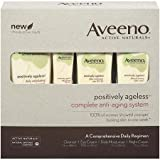 Aveeno Active Naturals Positively Ageless Complete Anti-Aging System, Comprehensive  Daily Regimen
