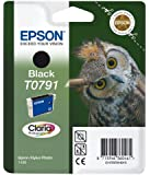 Epson Original T0791  Black Ink cartrdge for Stylus Photo 1400 (Owl)