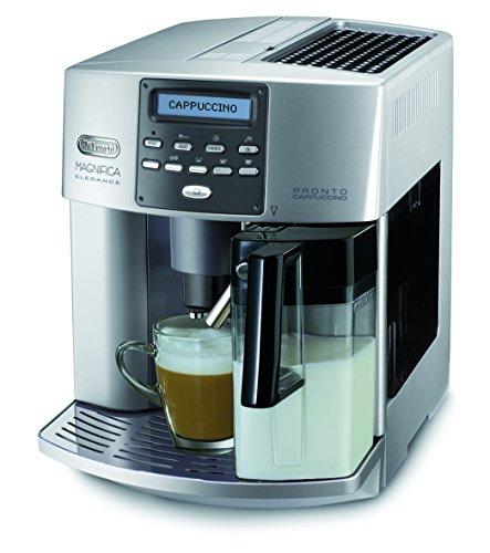 DeLonghi One Touch ESAM 3600 Kaffeevollautomat Elegance (Milchbehälter) silber thumbnail