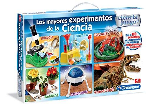 Ciencia y Juego - Los mayores experimentos de la ciencia (Clementoni 65232)