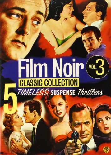 Cover art for  Film Noir Classic Collection, Vol. 3 (Border Incident / His Kind of Woman / Lady in the Lake / On Dangerous Ground / The Racket)