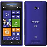 HTC 8X Windows 8 AT&T Phone (8GB) - Blue Color - UNLOCKED - NO CONTRACT