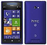 HTC 8X Windows 8 AT&T Phone (8GB) - Blue Color - UNLOCKED - NO...