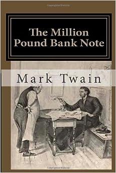 the million pound bank note amazon co uk mark twain