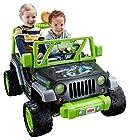 Fisher-Price Power Wheels Teenage Mutant Ninja Turtle Jeep Wrangler