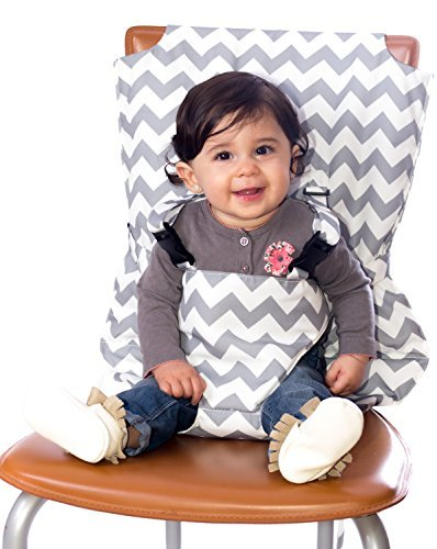 PeelCo Le Petit Toddler Technology Grey Portable Chair Harness Baby Seat - 1