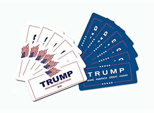 12-Pack-Donald-Trump-2016-Bumper-Sticker-Larger-Size-4-x10-inch-Reflective-Advertising-Sign-Vinyl-Support-Trump-Day-and-Night-Make-America-Great-Again