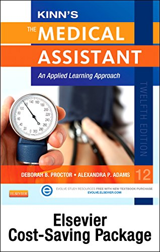 Kinn'S The Medical Assistant - Book, Study Guide, Checklist, And Simchart For The Medical Office Package With Icd-10 Supplement: An Applied Learning Approach, 12E