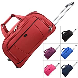 "JAM Traveller 21"" 23"" 26"" Holdall Trolley Bag Wheeled Travel Luggage Suitcase by JAM"