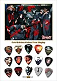 Slipknot Design B Gold Guitar Médiator Pick Display (Limited to 50)