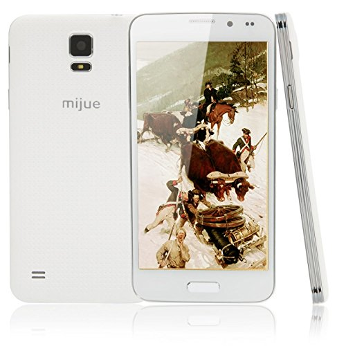 "Great Value Mijue M900 1Gb+4Gb Quad-Core Processor Android 4.2.2 Cellphone With 5.0"" Screen (Us Standard) White"
