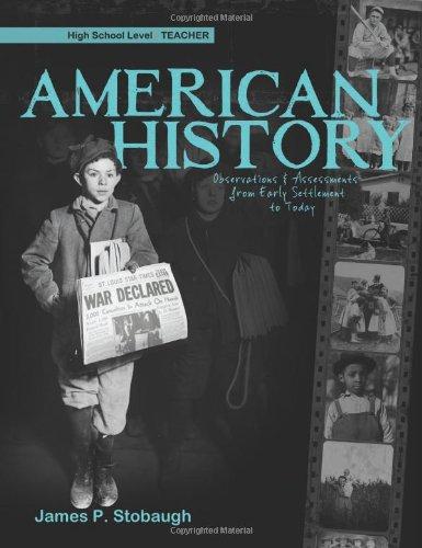 American History - Teacher089051660X