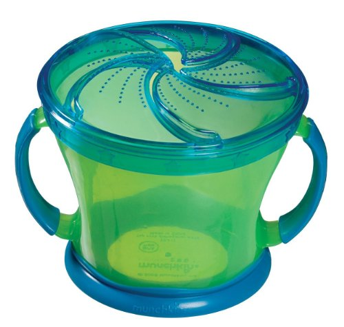 Munchkin Snack Catcher, 9 Ounce - Color May Vary - 2 Count - 1