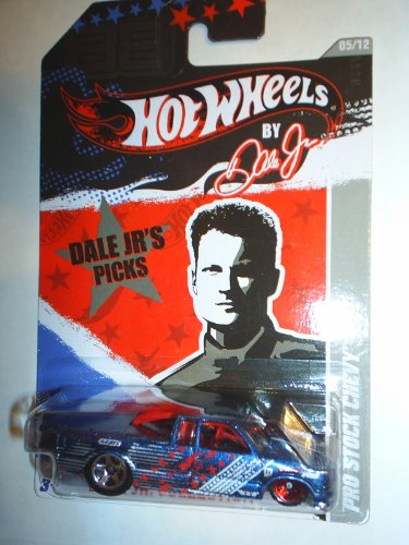 2011 Hot Wheels Walmart Exclusive Dale Jr. Collection Pro Stock Chevy Blue #5/12 - 1