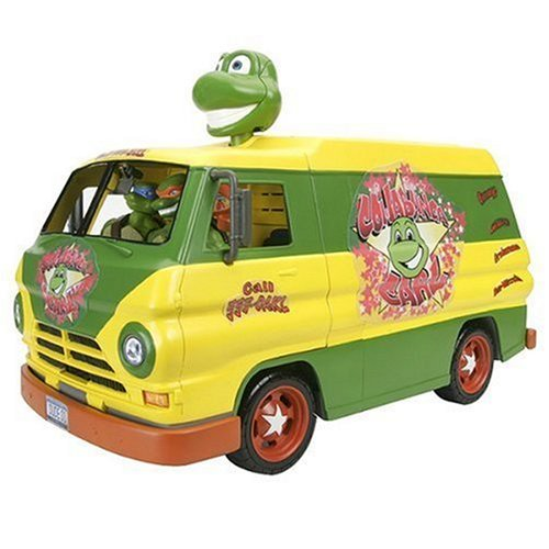 Turtles Movie - Cowabunga Carl Party Van