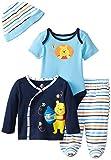 Disney Baby Baby-Boys Newborn Winnie The Pooh 4 Piece Gift Set, Multi, 9 Months