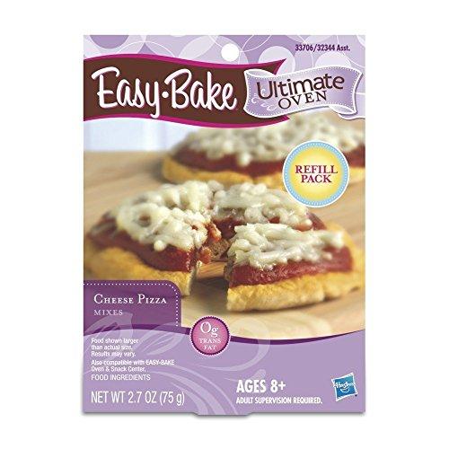 Easy Bake Ultimate Oven Cheese Pizza Mix Playset, 2 Pack (Easy Bake Oven Pizza Mix compare prices)