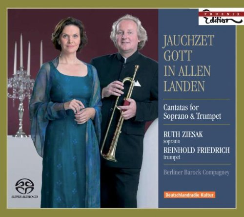SACD : BACH / KRIEGER / ZELENKA / ZIESAK / FRIEDRICH - Jauchzet Gott In Allen Landen: Cantatas For Sopran