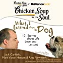Chicken Soup for the Soul: What I Learned from the Dog: 101 Stories about Life, Love, and Lessons (       UNABRIDGED) by Jack Canfield, Mark Victor Hansen, Amy Newmark (editor), Wendy Diamond (foreword) Narrated by Joyce Bean, Phil Gigante