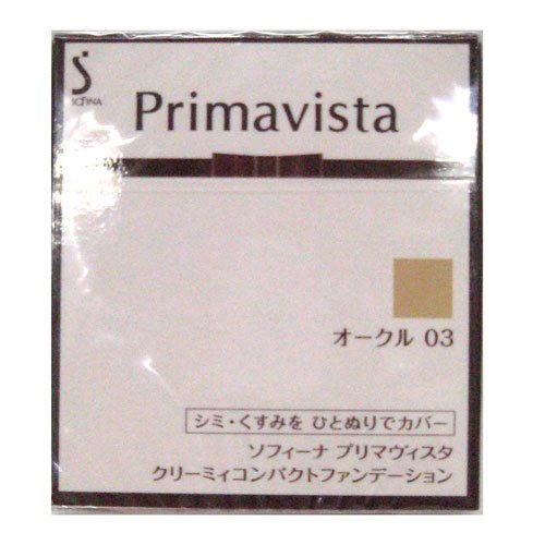 PV クリーミィコンパクトFD オークル03