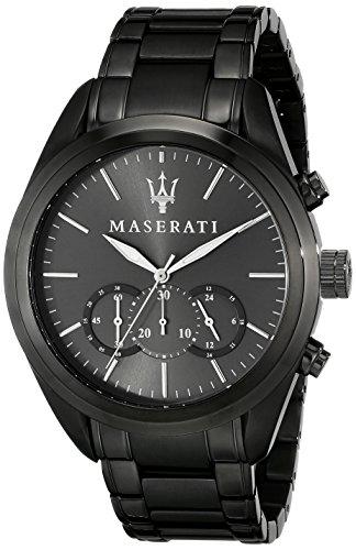 Maserati  - Reloj  de Cuarzo para Hombre, correa de Acero inoxidable color Gris