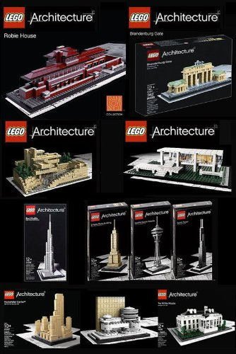Happy Time with Best Toys: LEGO Architecture Set of 11 - Robie House ...