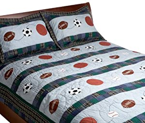 Pem America Sports Action Quilt Set at Sears.com