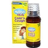 Hylands Cold n Cough 4 Kids, 4 Fluid Ounce