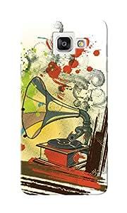 KnapCase Gramophone Designer 3D Printed Case Cover For Samsung Galaxy A7 2016