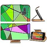 Liili Premium Motorola G 1st Generation Flip Pu Leather Wallet Case Digital painting of man playing the hockey Photo 5515941 Simple Snap Carrying
