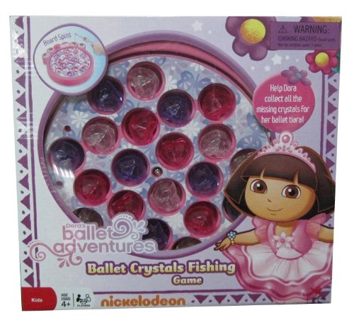 Dora Ballet Fishing Game - 1