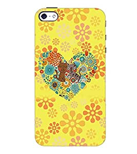 PrintDhaba Cartoon D-4517 Back Case Cover for APPLE IPHONE 5S (Multi-Coloured)