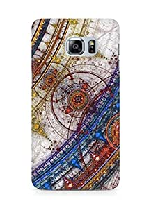 Amez designer printed 3d premium high quality back case cover for Samsung Galaxy S6 Edge Plus (Abstract)