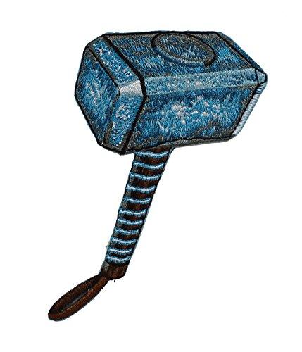 "Retro THOR, Thor's Hammer, Officially Licensed Original Marvel Artwork, 4"" x"