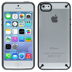 Evecase iPhone 5S / 5 Case, FrostView Hard Shell Clear Cover Slim Case for Apple iPhone 5/ iPhone 5S