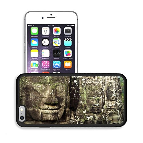 Luxlady Premium Apple iPhone 6 Plus iPhone 6S Plus Aluminum Backplate Bumper Snap Case IMAGE ID: 25475702 Giant Stone Faces at Ancient Bayon Temple in Angkor Cambodia (Angkor Wat Model compare prices)